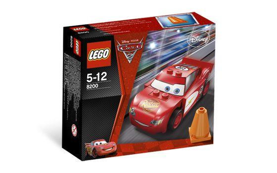 zzLego Cars 2 Fulgerul McQueen