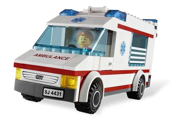 zzLego City Ambulanta