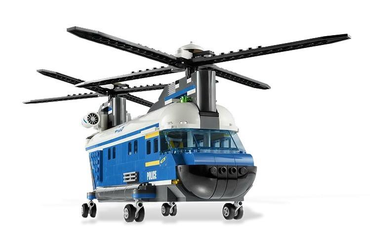 zzLego City Elicopter tonaj ridicat