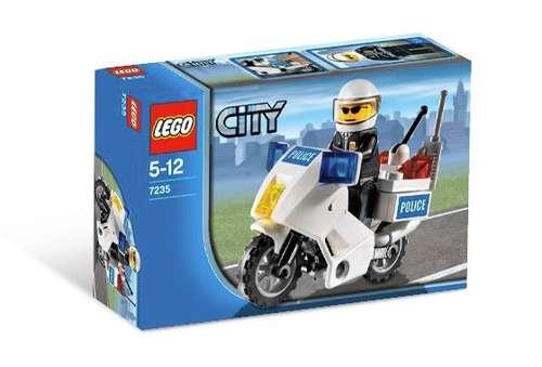 zzLego City Motocicleta Politie
