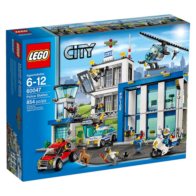 Lego City Post de politie