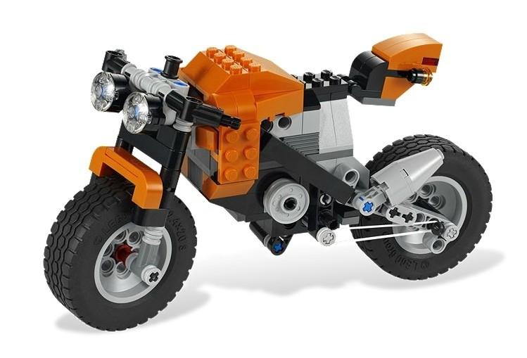 zzLego Creator 3 in 1 Motocicleta