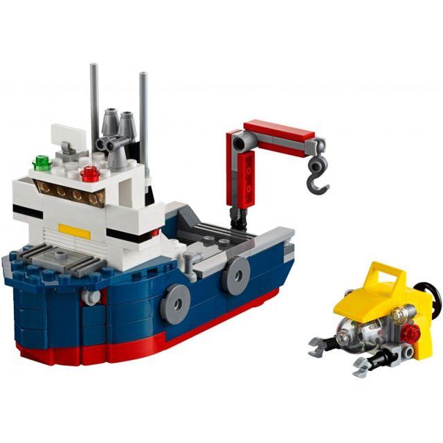 Lego-Creator,Nava de explorare oceanica