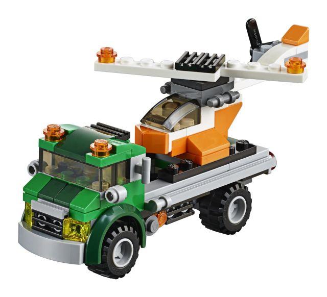 Lego-Creator,Transportator de elicopter