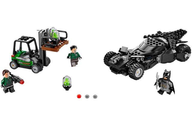 Lego-DC Comics Super Heroes,Interceptarea kriptonitei