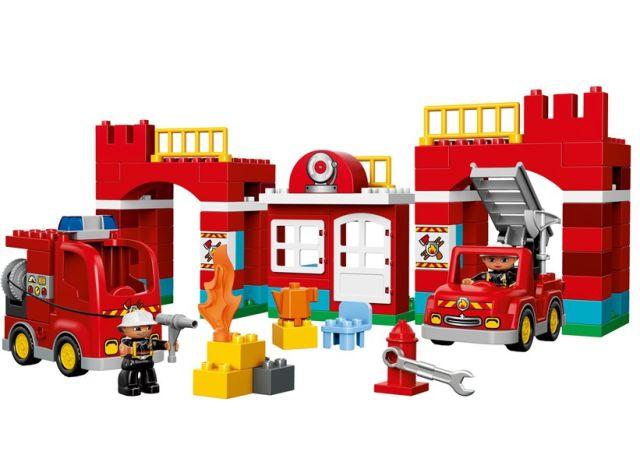 Lego-Duplo,Remiza de pompieri