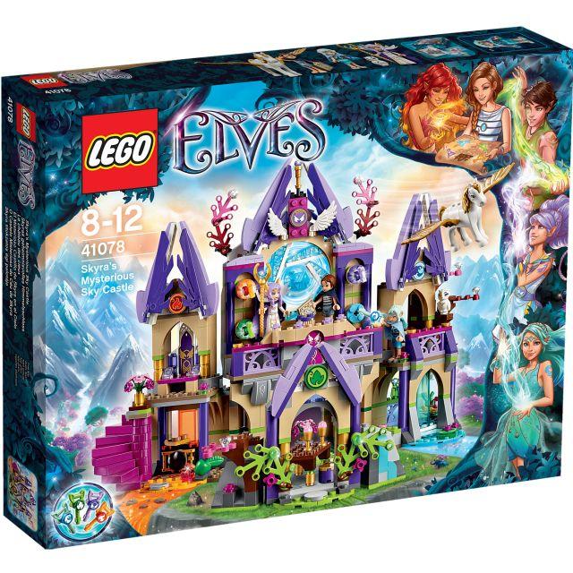 Lego-Elves,Castelul misterios din cer al Skyrei