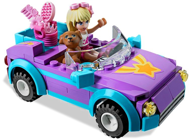 zzLego Friends Masinuta decapotabila Stepha