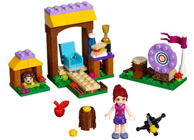 Lego-Friends,Tabara de aventuri,Tragerea cu arcul