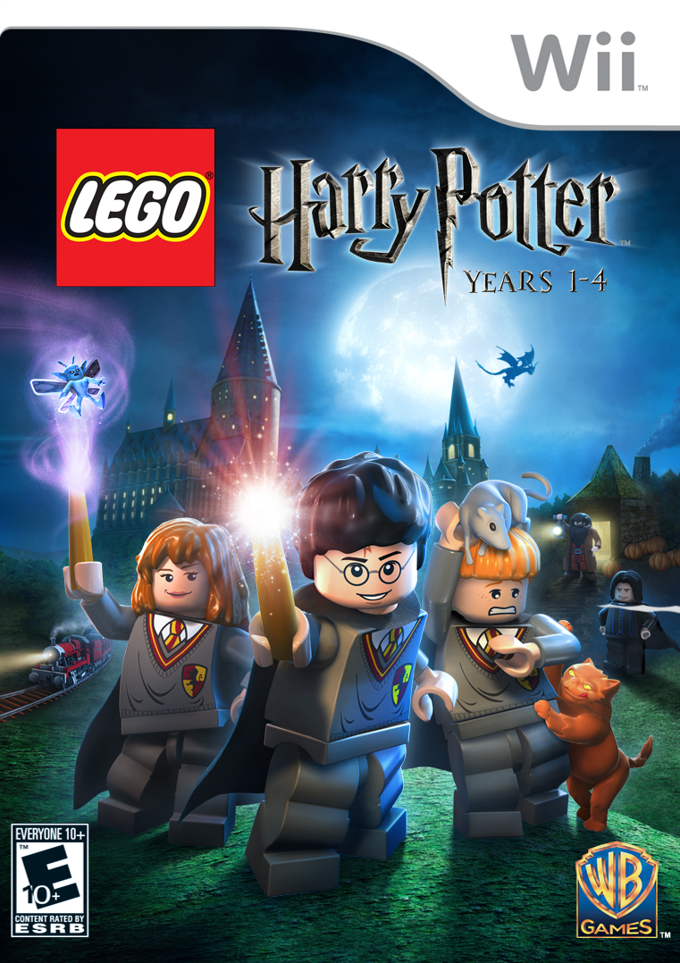 LEGO HARRY POTTER YEARS 1-4 WII