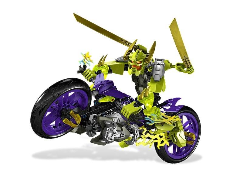 zzLego Hero Factory Motocicleta demonului