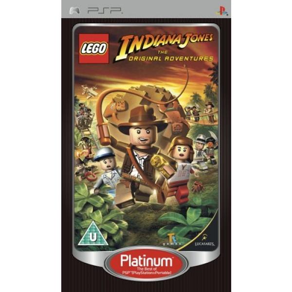 LEGO INDIANA JONES PLATINUM PS2