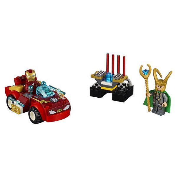 Lego-Juniors,Juniors Iron Man contra Loki