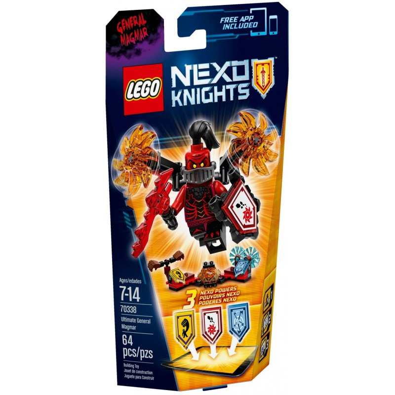 Lego-Nexo Knights,Supremul General Magmar