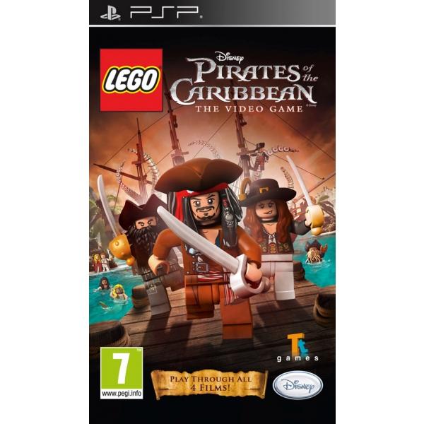 LEGO PIRATES OF THE CARIBBEAN - PSP