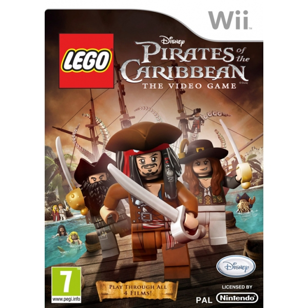 LEGO PIRATES OF THE CARIBBEAN - WII