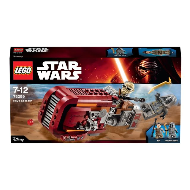 LEGO Star Wars Rey\'s Speeder