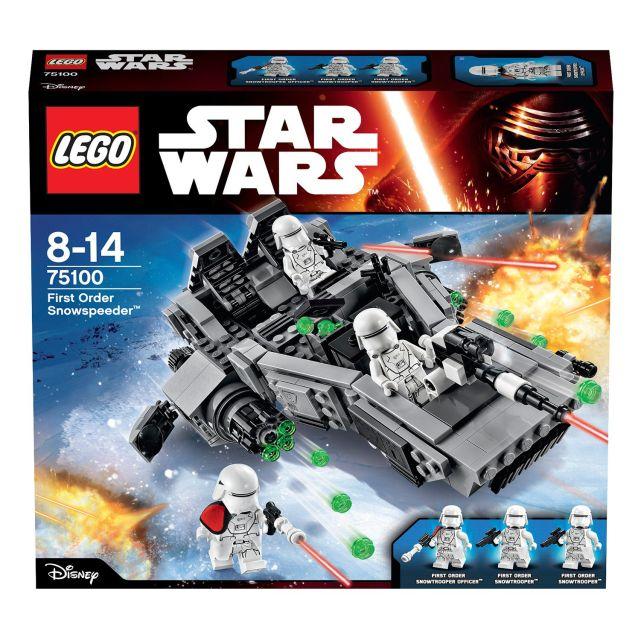 LEGO Star Wars Snowspeeder Ordinul Intai