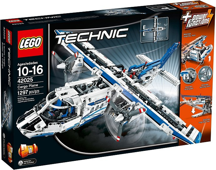 Lego Tech Avion de marfa