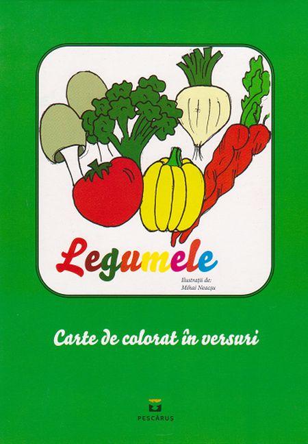 LEGUMELE. CARTE DE COLORAT IN VERSURI