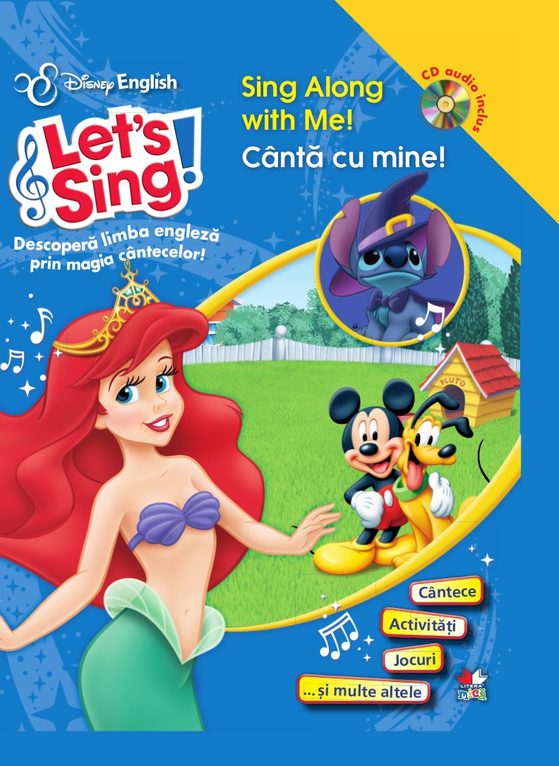 LET S SING! CANTA CU MINE!-SING ALONG WITH ME! CARTE + CD