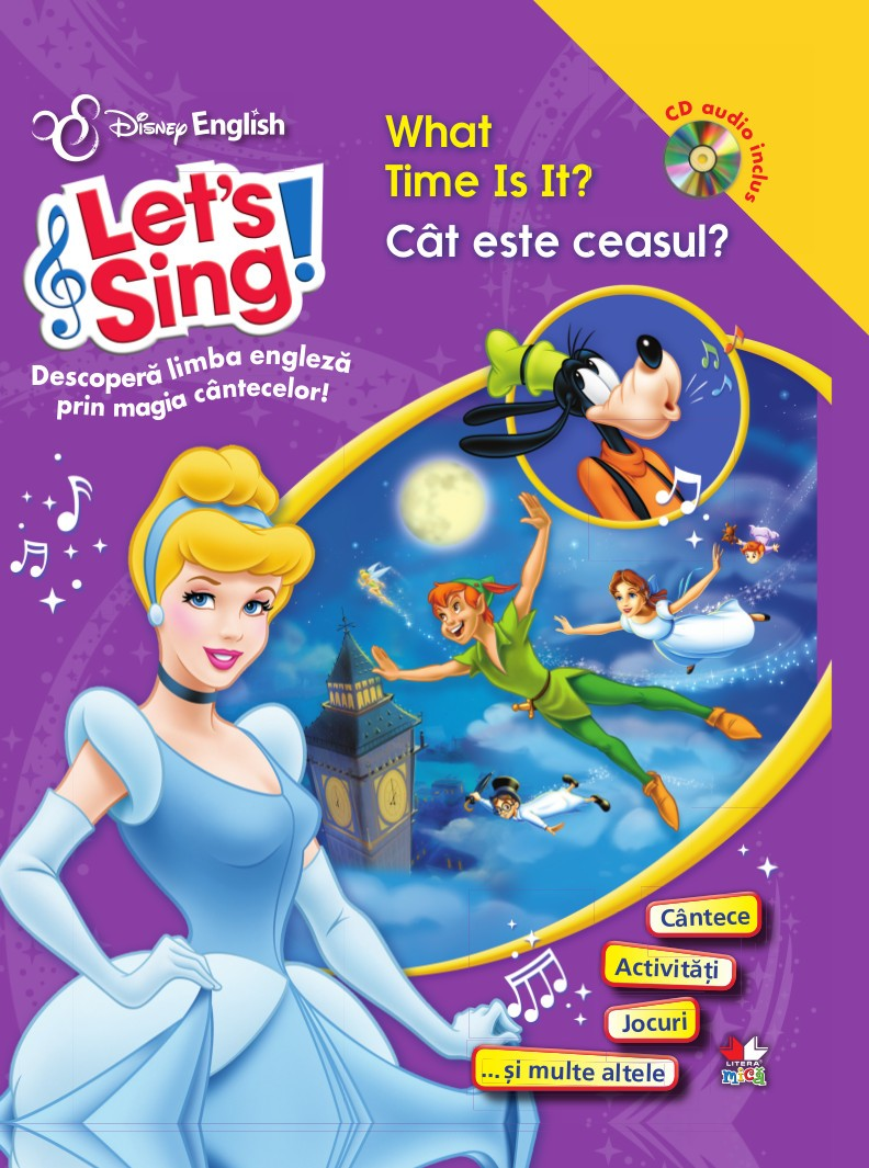 LET S SING! CAT ESTE CEASUL?-WHAT TIME IS IT? CARTE+CD