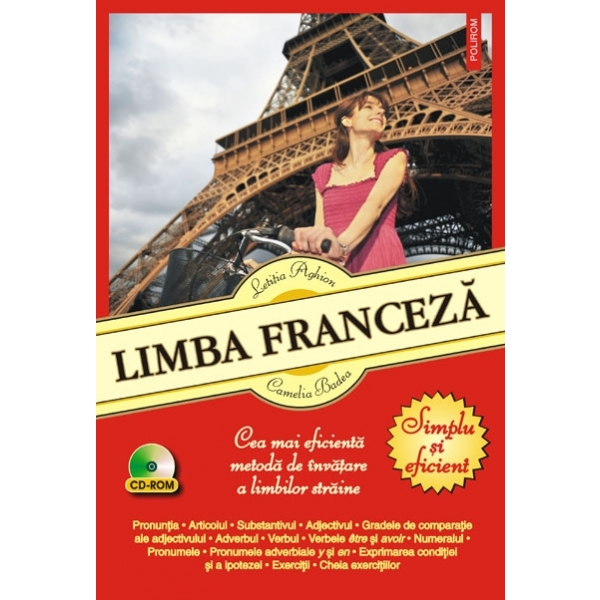 LIMBA FRANCEZA. SIMPLU SI EFICIENT. CONTINE CD AUDIO