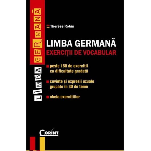 LIMBA GERMANA. EXERCITII DE VOCABULAR