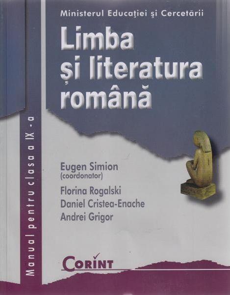 Limba si literatura romana -Manual pentru clasa a IX-a