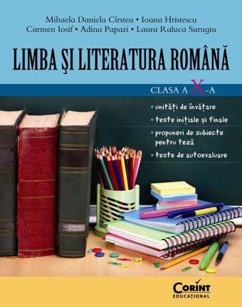 LIMBA SI LITERATURA ROMANA CLS. A X-A - CIRSTEA