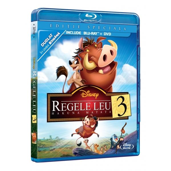 LION KING 3 SE  (DVD + BR) - REGELE LEU 3