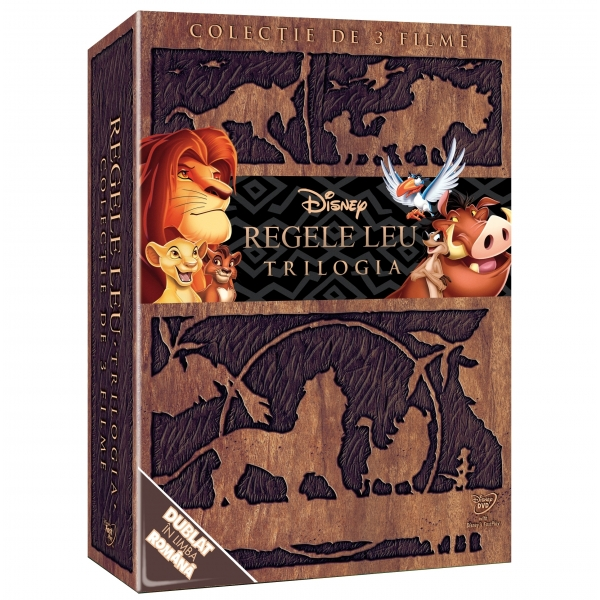 LION KING BOX - DVD