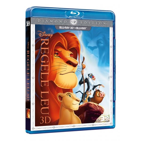 LION KING DE  (3DBR + BR) - REGELE LEU