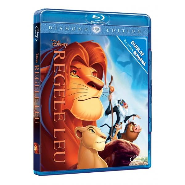 LION KING DE  (DVD + BR) - REGELE LEU