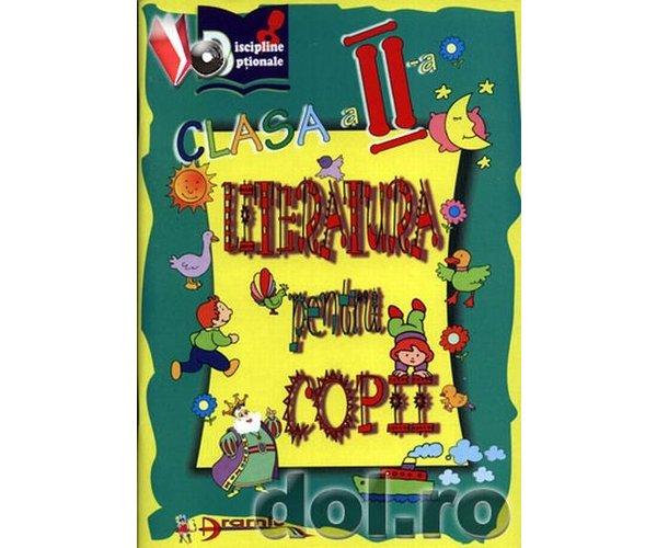 Literatura pentru copii: clasa a II-a, Tabaras Corina, Magdan Leon