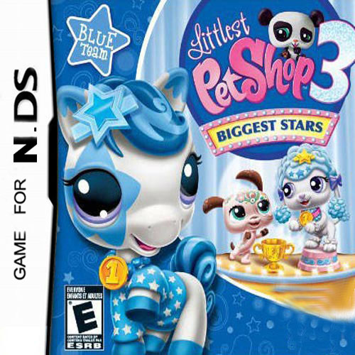 LITTLEST PET SHOP 3 BLU DS