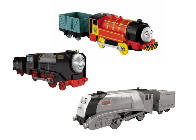 Locomotiva motorizata cu vagon,Thomas,div.mod