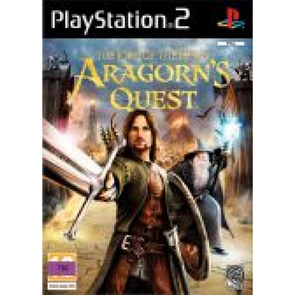 LORD OF THE RINGS ARAGONS QUEST PS2