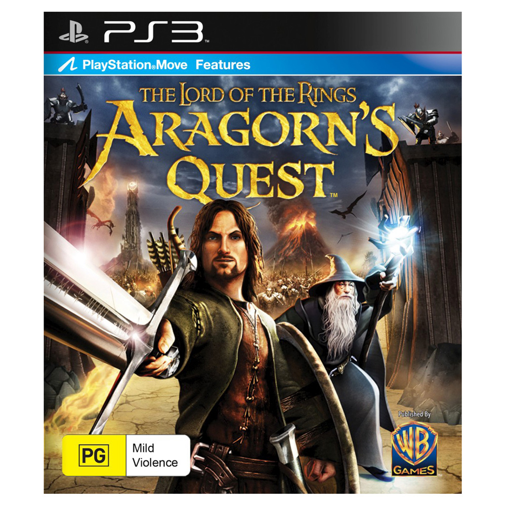 LORD OF THE RINGS ARAGONS QUEST PS3