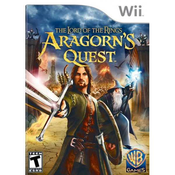LORD OF THE RINGS ARAGONS QUEST WII