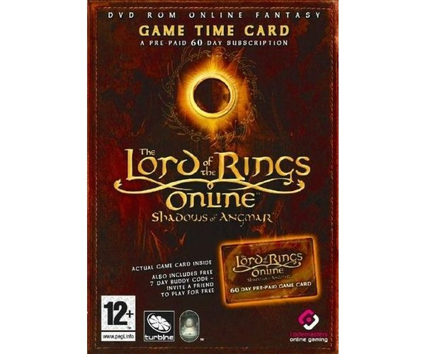 LOTR ONLINE TIME CARD PC
