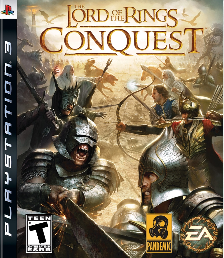 L.O.T.R. THE RINGS CONQ PS3