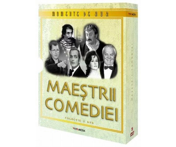 MAESTRII COMEDIEI COLECTIE 5 DVD