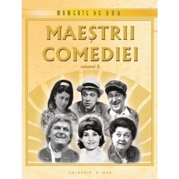 MAESTRII COMEDIEI Vol 2 Colectie 5 DVD-uri