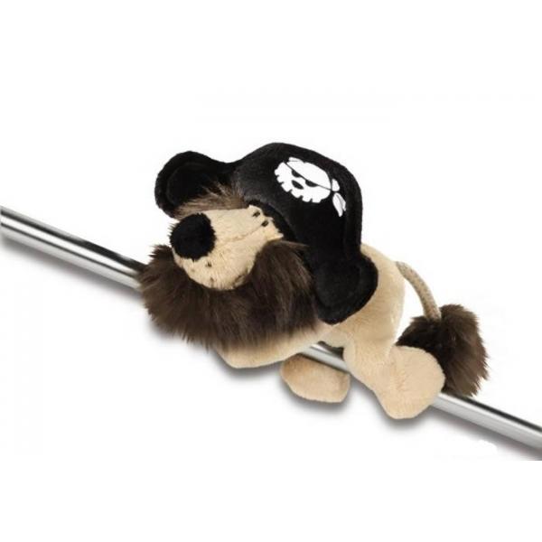 Magnet Leu pirat, 12 cm
