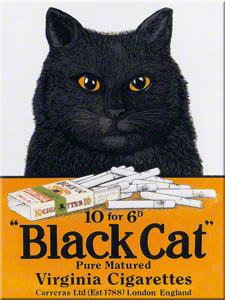 MAGNET BLACK CAT