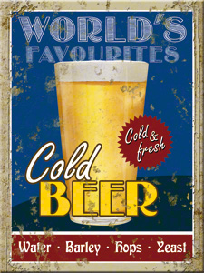 MAGNET COLD BEER