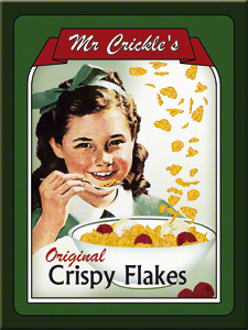 MAGNET MR. CRICKLES CRISPY FLAKES