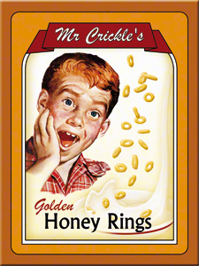 MAGNET MR. CRICKLES HONEY RINGS
