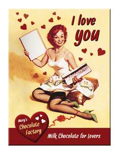 MAGNET I LOVE YOU CHOCOLATE